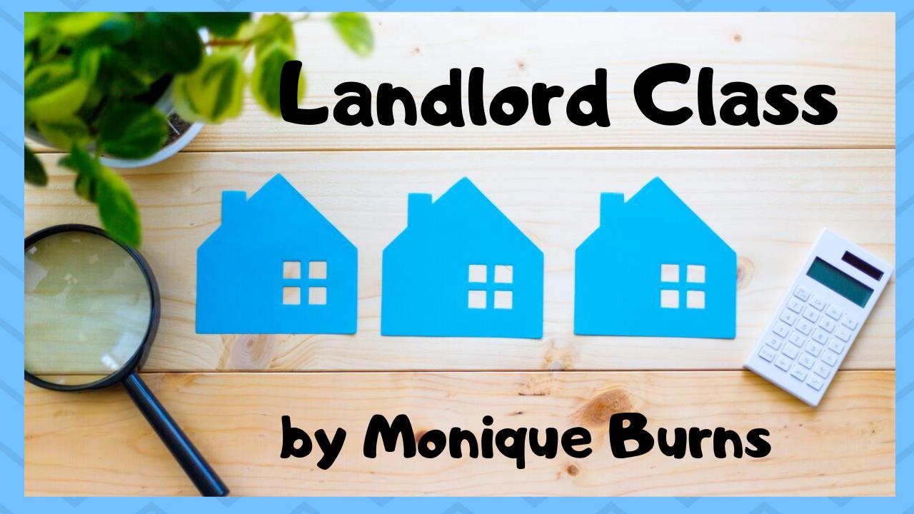 Landlord Training Schedule